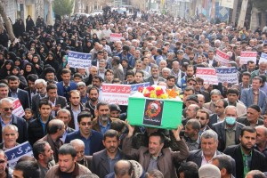 راهپیمایی محکومیت  آل سعود و اعدام شیخ نمر در یاسوج (۱۱)