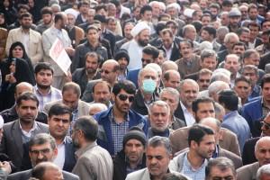 راهپیمایی محکومیت  آل سعود و اعدام شیخ نمر در یاسوج (۱۳)