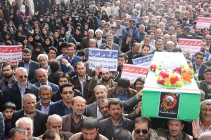 راهپیمایی محکومیت  آل سعود و اعدام شیخ نمر در یاسوج (۱۷)