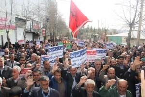راهپیمایی محکومیت  آل سعود و اعدام شیخ نمر در یاسوج (۶)