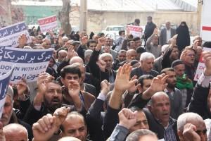 راهپیمایی محکومیت  آل سعود و اعدام شیخ نمر در یاسوج (۷)