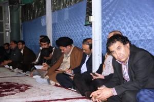 دیدار اعضای ستاد دهه فجر با آیت الله ملک حسینی
