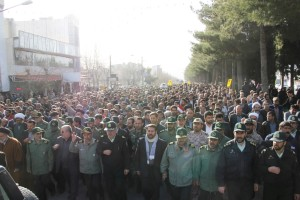 تشییع پیکر شهیدحرم سردار ستار اورنگ در یاسوج (۱۲)
