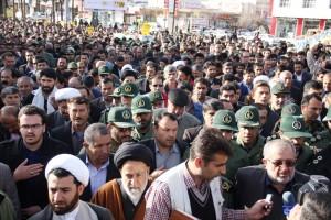 تشییع پیکر شهیدحرم سردار ستار اورنگ در یاسوج (۱۹)