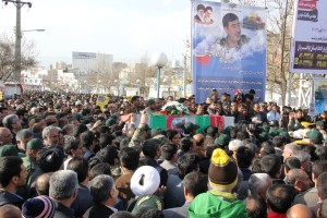 تشییع پیکر شهیدحرم سردار ستار اورنگ در یاسوج (۲۲)