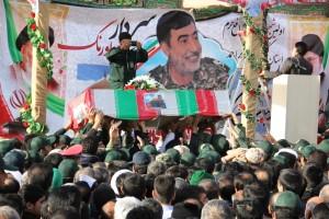 تشییع پیکر شهیدحرم سردار ستار اورنگ در یاسوج (۲۳)