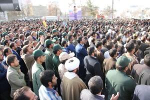 تشییع پیکر شهیدحرم سردار ستار اورنگ در یاسوج (۲۴)