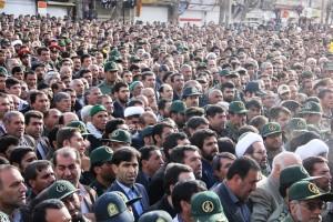 تشییع پیکر شهیدحرم سردار ستار اورنگ در یاسوج (۲۶)