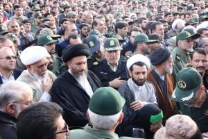 تشییع پیکر شهیدحرم سردار ستار اورنگ در یاسوج (۲۸)