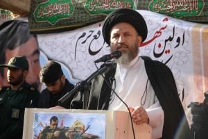 تشییع پیکر شهیدحرم سردار ستار اورنگ در یاسوج (۳۷)