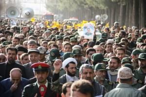 تشییع پیکر شهیدحرم سردار ستار اورنگ در یاسوج (۷)