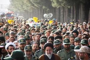 تشییع پیکر شهیدحرم سردار ستار اورنگ در یاسوج (۹)