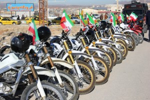 رژه موتوری یوم الله ۱۲ بهمن شهر یاسوج (۱)