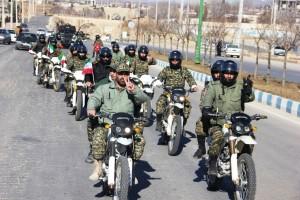 رژه موتوری یوم الله ۱۲ بهمن شهر یاسوج (۱۲)