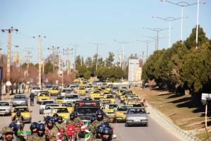 رژه موتوری یوم الله ۱۲ بهمن شهر یاسوج (۱۴)