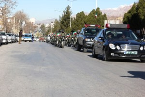 رژه موتوری یوم الله ۱۲ بهمن شهر یاسوج (۱۵)