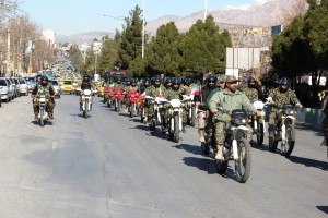 رژه موتوری یوم الله ۱۲ بهمن شهر یاسوج (۱۶)