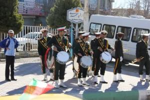 رژه موتوری یوم الله ۱۲ بهمن شهر یاسوج (۱۹)