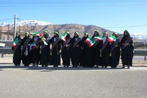 رژه موتوری یوم الله ۱۲ بهمن شهر یاسوج (۲)