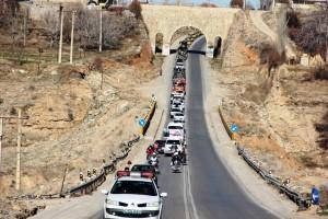 رژه موتوری یوم الله ۱۲ بهمن شهر یاسوج (۶)