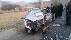 تصادف شوتی محور یاسوج - اصفهان (۱)