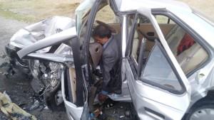تصادف شوتی محور یاسوج - اصفهان (۶)