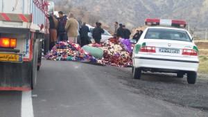 تصادف شوتی محور یاسوج - اصفهان (۹)