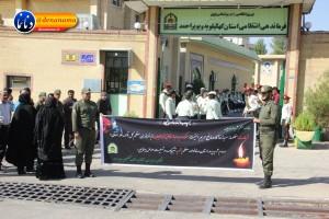 تشییع سرگرد شهید عبدالخالق فرزادیان در یاسوج (۱)