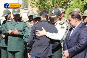 تشییع سرگرد شهید عبدالخالق فرزادیان در یاسوج (۱۰)
