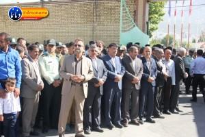 تشییع سرگرد شهید عبدالخالق فرزادیان در یاسوج (۱۱)