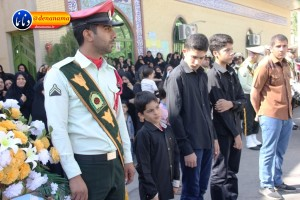 تشییع سرگرد شهید عبدالخالق فرزادیان در یاسوج (۱۲)