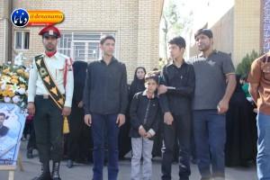 تشییع سرگرد شهید عبدالخالق فرزادیان در یاسوج (۱۳)