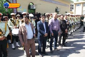 تشییع سرگرد شهید عبدالخالق فرزادیان در یاسوج (۱۶)