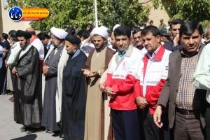 تشییع سرگرد شهید عبدالخالق فرزادیان در یاسوج (۱۷)