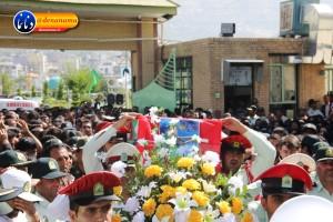 تشییع سرگرد شهید عبدالخالق فرزادیان در یاسوج (۲۱)