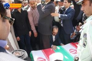 تشییع سرگرد شهید عبدالخالق فرزادیان در یاسوج (۲۳)