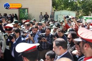 تشییع سرگرد شهید عبدالخالق فرزادیان در یاسوج (۲۴)