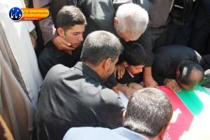تشییع سرگرد شهید عبدالخالق فرزادیان در یاسوج (۲۶)