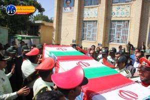 تشییع سرگرد شهید عبدالخالق فرزادیان در یاسوج (۲۷)