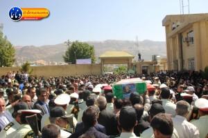 تشییع سرگرد شهید عبدالخالق فرزادیان در یاسوج (۲۸)