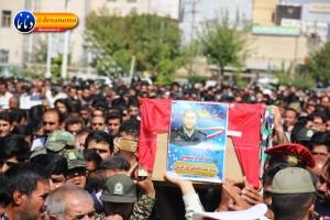تشییع سرگرد شهید عبدالخالق فرزادیان در یاسوج (۳۷)