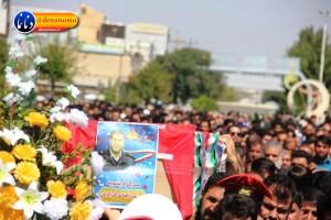تشییع سرگرد شهید عبدالخالق فرزادیان در یاسوج (۳۸)