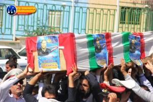تشییع سرگرد شهید عبدالخالق فرزادیان در یاسوج (۳۹)