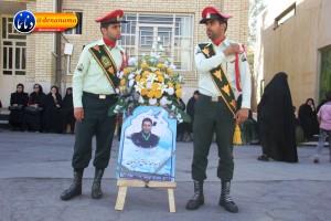 تشییع سرگرد شهید عبدالخالق فرزادیان در یاسوج (۴)