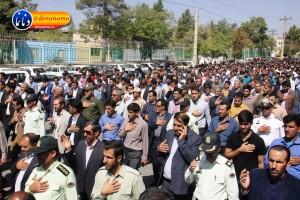 تشییع سرگرد شهید عبدالخالق فرزادیان در یاسوج (۴۰)
