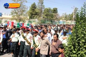 تشییع سرگرد شهید عبدالخالق فرزادیان در یاسوج (۴۱)
