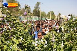 تشییع سرگرد شهید عبدالخالق فرزادیان در یاسوج (۴۲)