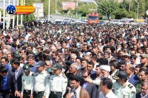 تشییع سرگرد شهید عبدالخالق فرزادیان در یاسوج (۴۵)