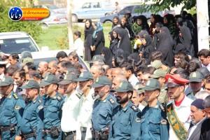 تشییع سرگرد شهید عبدالخالق فرزادیان در یاسوج (۴۸)