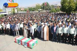 تشییع سرگرد شهید عبدالخالق فرزادیان در یاسوج (۴۹)
